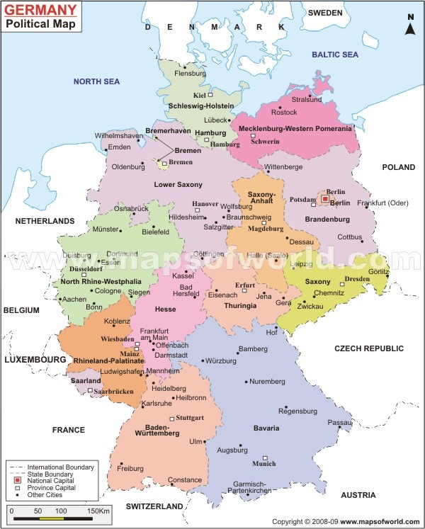 A Glimpse into Bavarias Oberpfalz – Ulm Germany Map