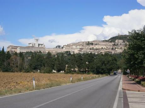 Assisi from Umbria Valley