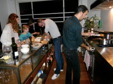 The Belgian Chefs in Action