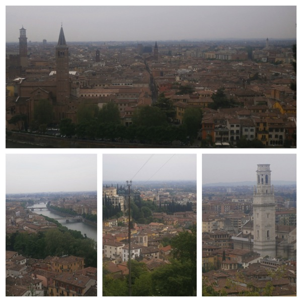 Verona Panorama Fotor Collage