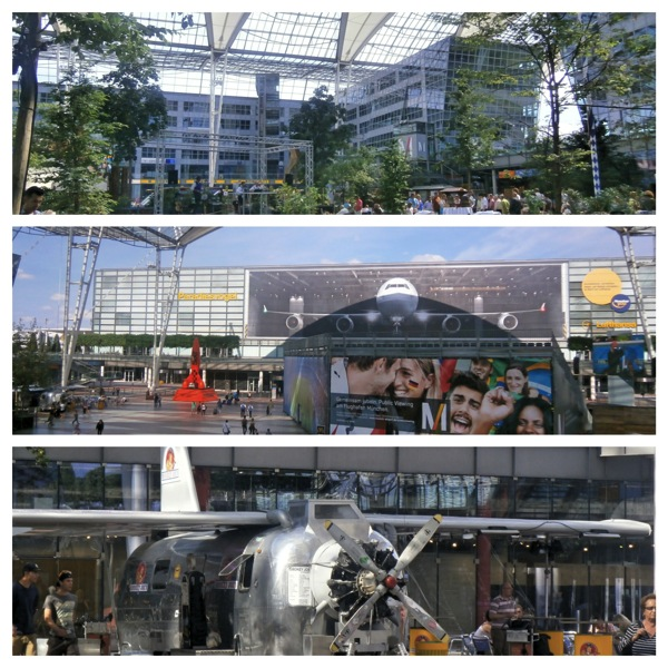 Munich Airport Fotor Collage