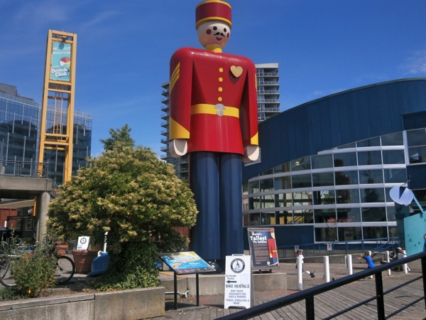 World s tallest tin soldier