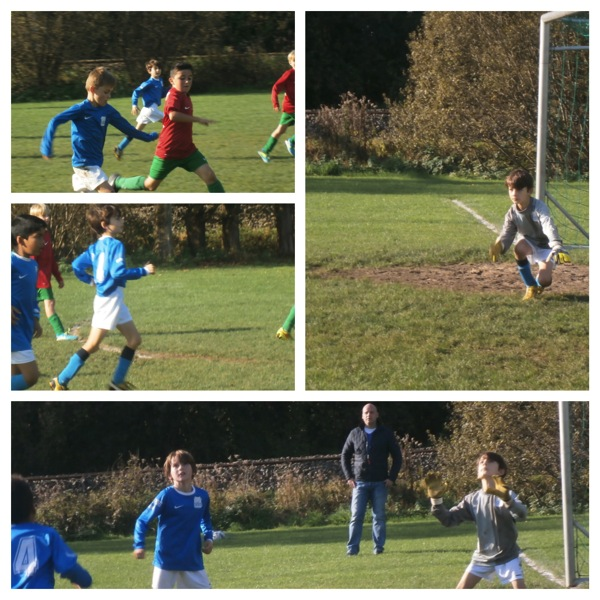 Syd soccer action Fotor Collage