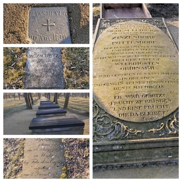 Grave Zinzendorf Fotor Collage