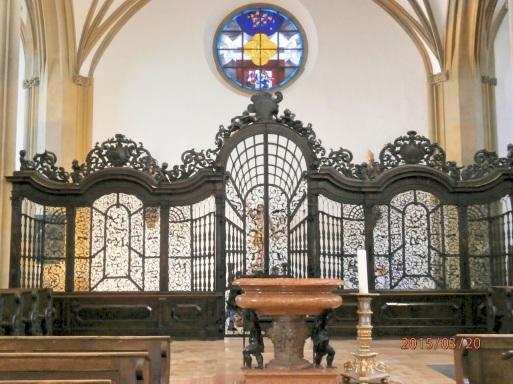 SS Ulrich & Afra - Baptismal & Entrance