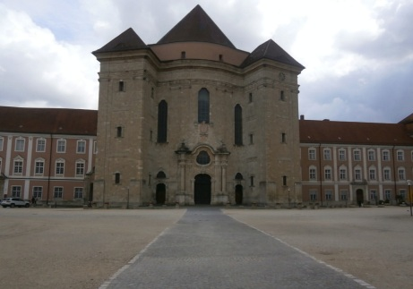 Outside Wiblingen Abbey