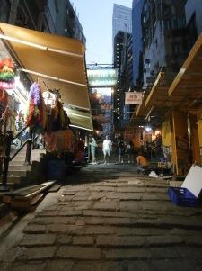 Ladder Street Central Hong Kong