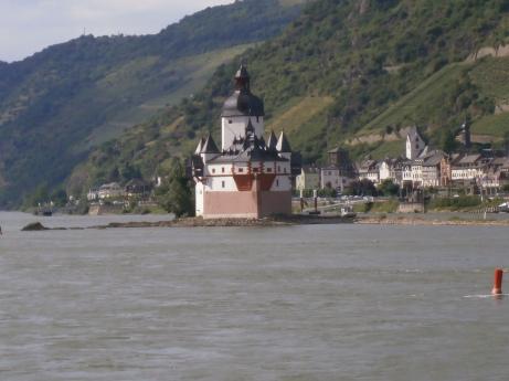 Pfalz Grafenstein - Kaub - Rhein
