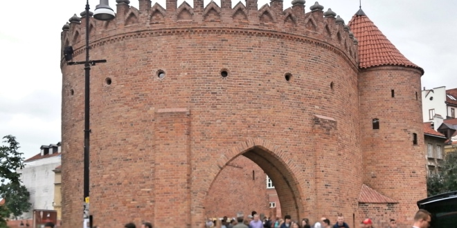 Warsaw Barbican Fortress