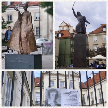 Warsaw Curie, Kilinski, Chopin