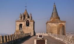 Évora Sé Cathedral Towers