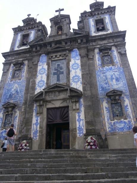 Porto, St. Ildefonso Church Façade