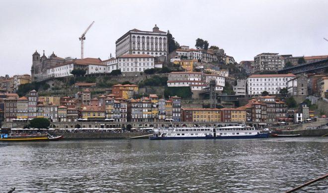Porto from Harbourside