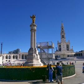 Fatima, Christ Statue