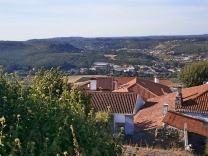 Ourém View of Region Portugal