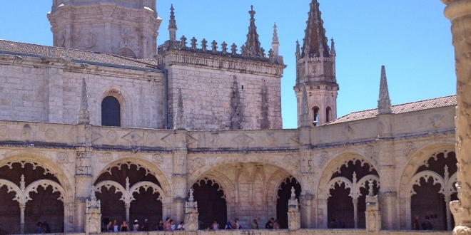 Lisbon - Jeronimos Monastery, Cloister and Church towers