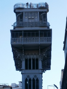 Lisbon - Elevator Close-up