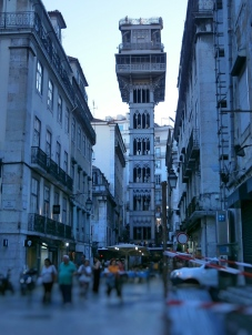 Lisboa - Elevador de S. Justa