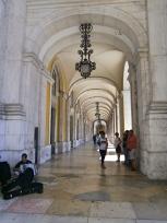 Praça Rossio Portico - Lisboa