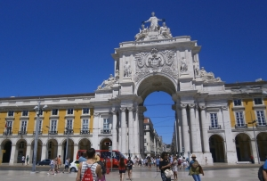 Arco Praça Rossio - Lisboa