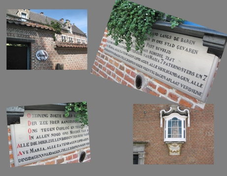 Lier, Beguinage, Prayers against misfortunes; instructions re. indulgences and shrine to Our Lady of Remedy