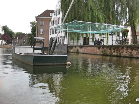 Lier, Flat Bottom Barges for Fish Transport