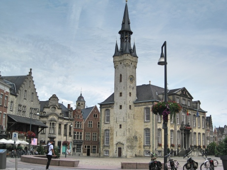 Lier, Grote Markt with City Hall